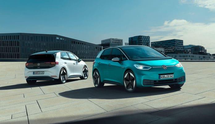 The new Volkswagen ID.3.