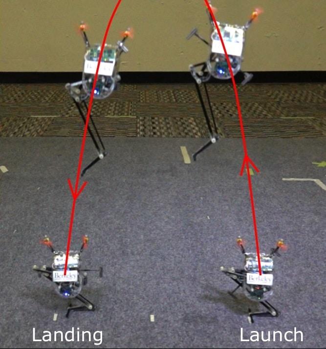Salto-1P leaps and lands.