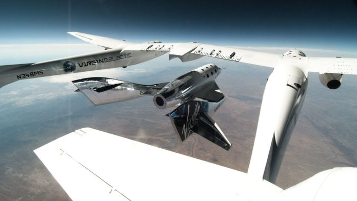 Virgin Galactic completes a second 'glide test' of SpaceShipTwo Spacecraft.