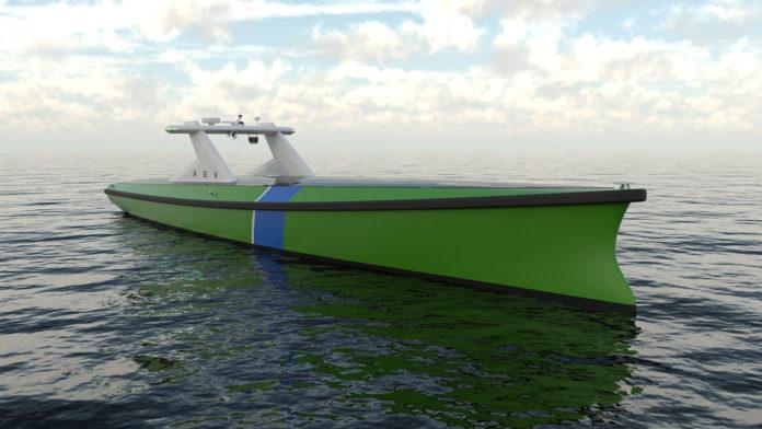 Autonomous Guard Vessel for surveillance of offshore structures.