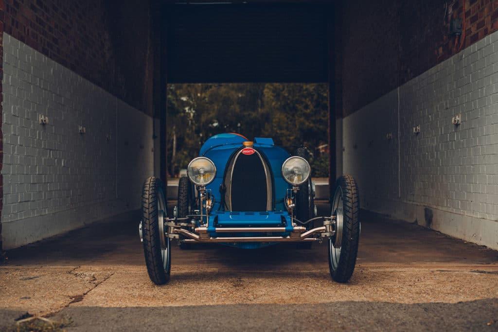 It is a 75% scale replica of the race-winning Type.