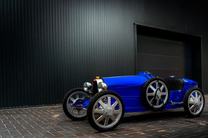 Bugatti starts production of Baby Bugatti II designed for ages 14 and above.