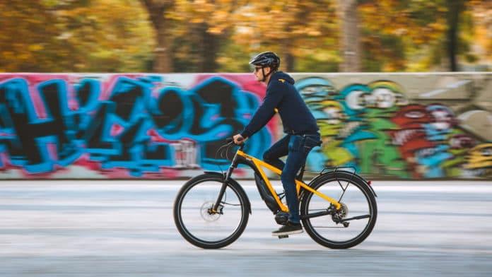 Ducati e-Scrambler, the Italian brand's new trekking e-bike.