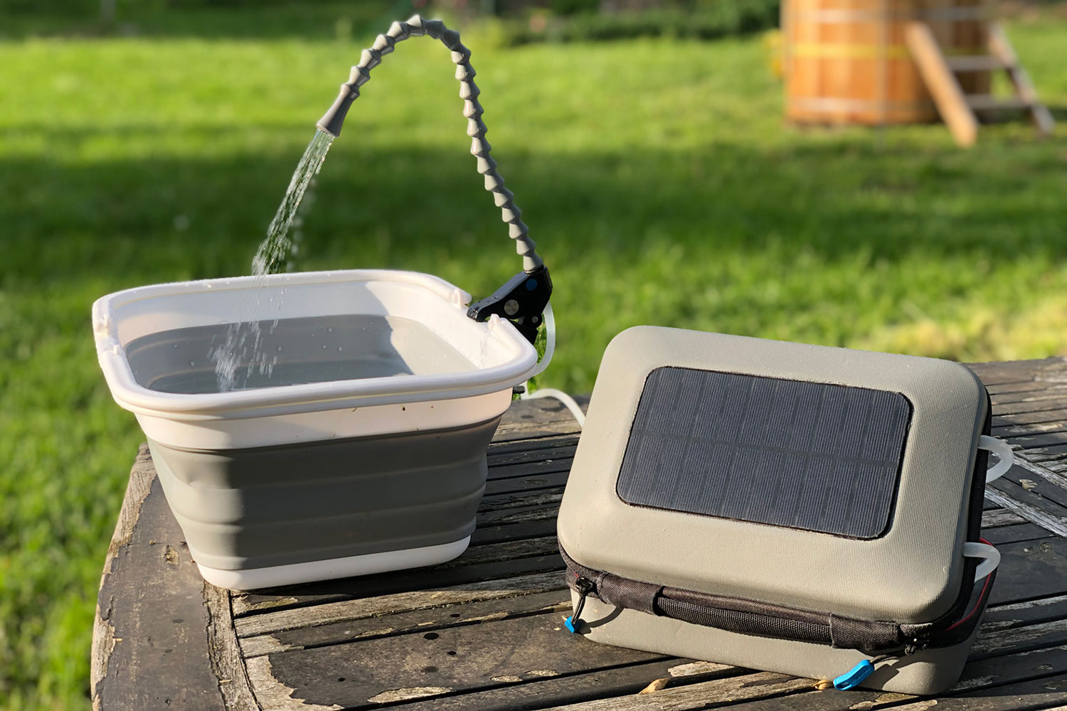GoSun Flow, a solar-powered water purifier and portable sanitation station