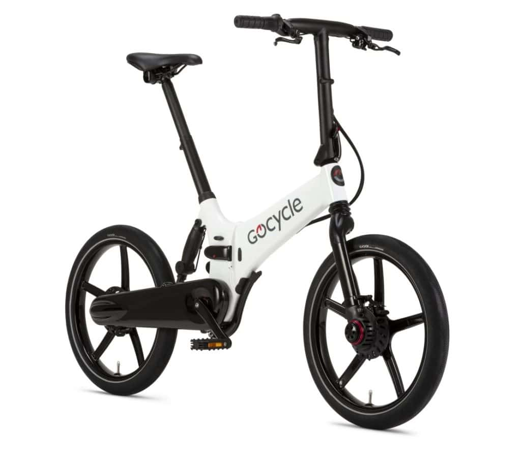 Gocycle 2020 GX in whilte color