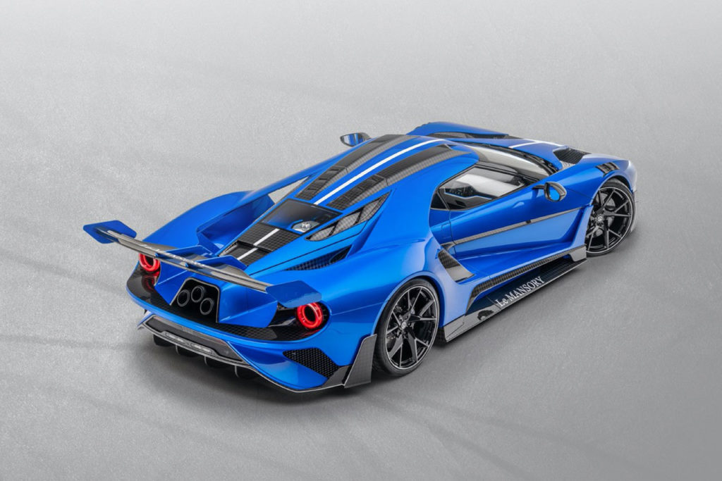 """The Ford GT """"Le MANSORY"""" Rear"""