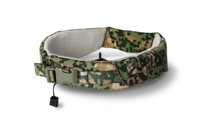 Mission Navigation Belt allows soldiers to feel waypoint navigation.