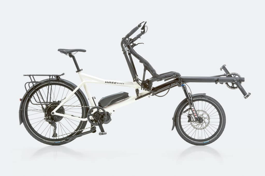 The new PINO STEPS: e-tandem, parent taxi and cargo bike in one