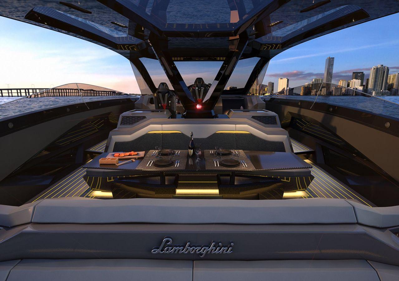 Tecnomar for Lamborghini 63: Interior