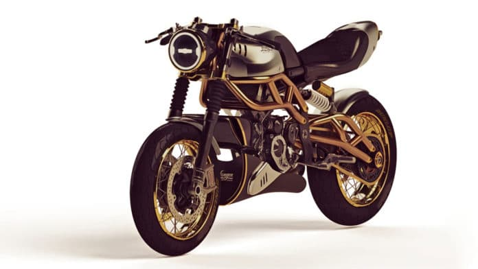 Langen Motorcycles unveils a charming cafe racer with modern 2-stroke engine
