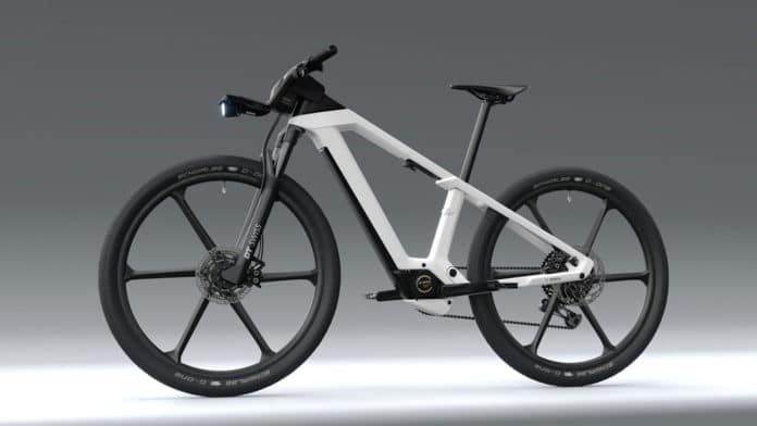 Bosch shows concept for fully integrated e-bike of the future.