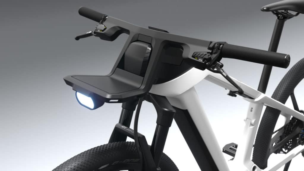 The eBike Design Vision is also equipped with the Bosch eBike ABS.