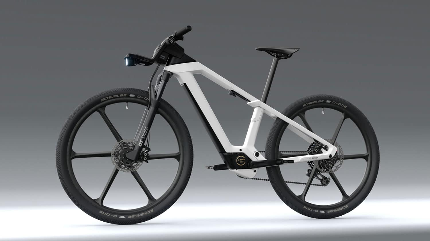 Bosch shows a concept for fully integrated e-bike of the future