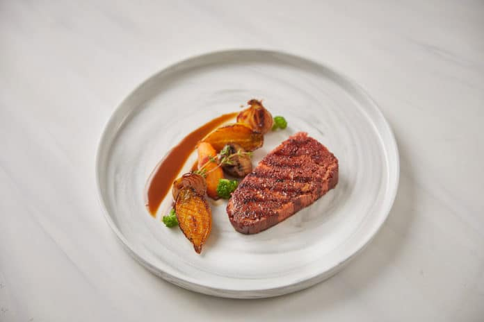 Redefine Meat unveils 3D-printed plant-based steaks that mimic real beef