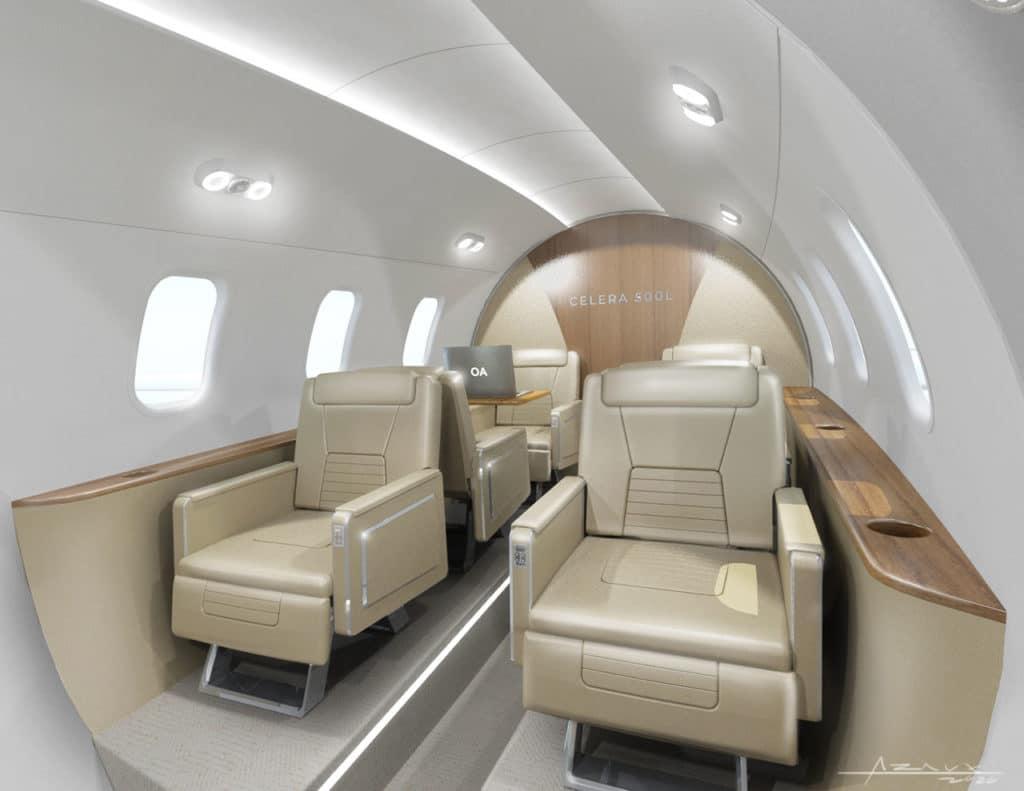 Celera 500L Interior View.