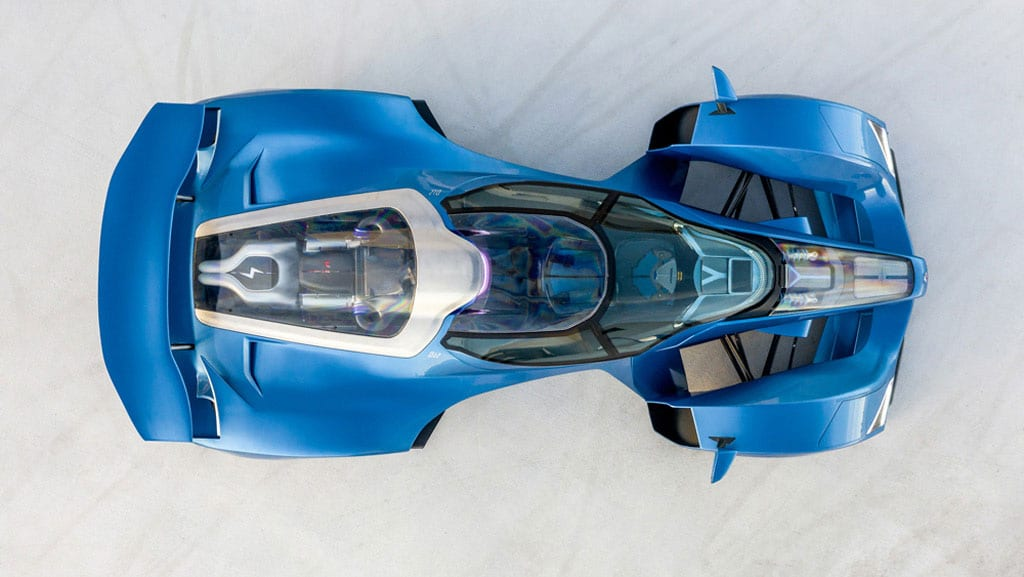 It will use a carbon fiber monocoque with bodywork that 'wraps' the narrow fuselage.