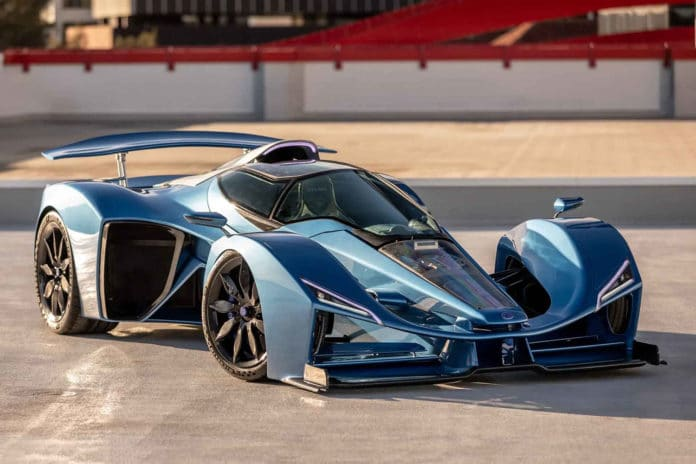 Historic French brand Delage returns with 1100 hp D12 hypercar.