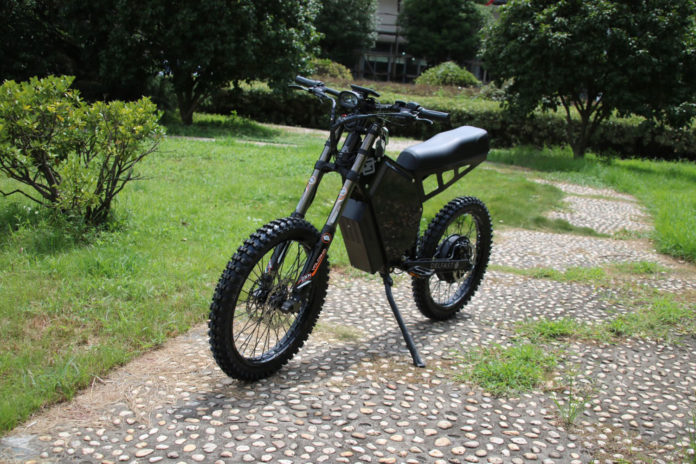 Delfast Cross Dirt, a new electric motocross with a maximum range of 280 km.