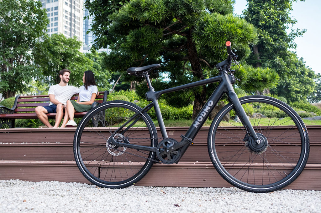 The first 100 bikes will be delivered by the end of September.