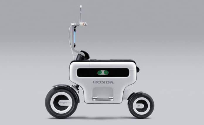The Honda Motor Compo concept from the 2011 Tokyo Motor Show.