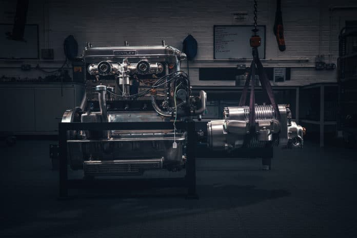 Bentley starts assembly of Car Zero, first new Blower in 90 years. Credit: Bentley