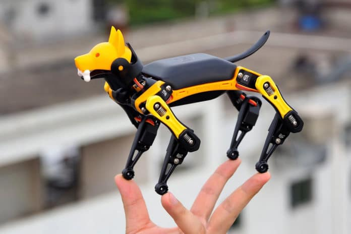 Petoi Bittle, a palm-sized robot dog for STEM and fun!
