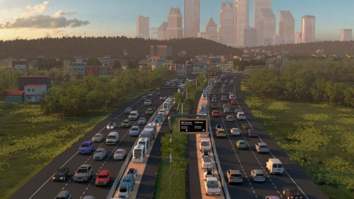 A first-of-its-kind corridor for connected and autonomous vehicles.