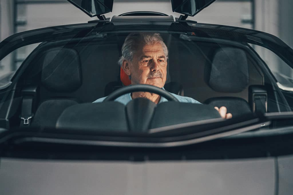 • Engineered to be the most driver-centric supercar ever built