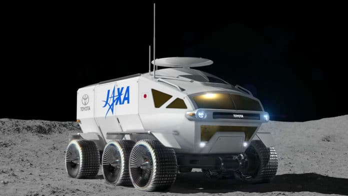 LUNAR CRUISER, Japan's manned, hydrogen-powered lunar rover.