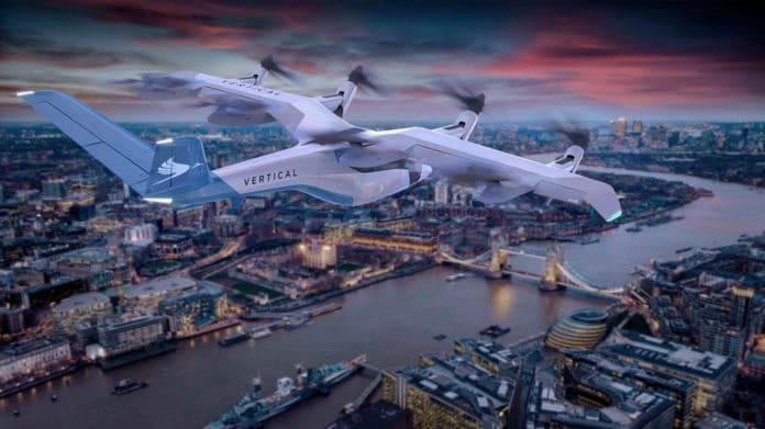Vertical Aerospace reveals the design of its new VA-1X air taxi. Credit: Vertical Aerospace