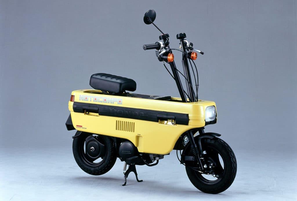 Honda's Motocompo from the 80s.