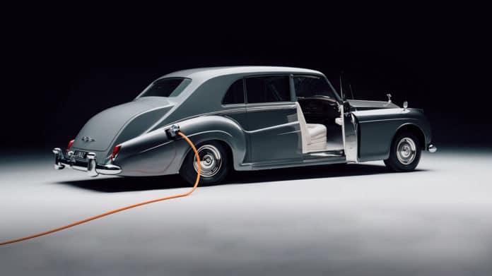 Electric Rolls-Royce Phantom V.