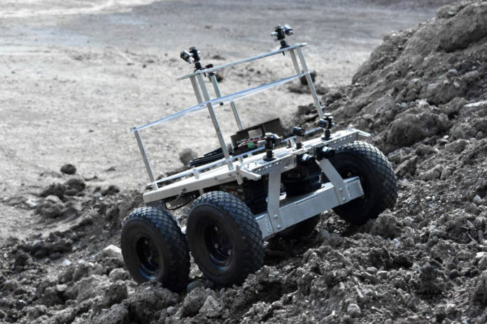 CMU's MoonRanger will be the first to search for water ice on the Moon in 2022.