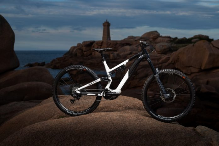 Commencal Meta Power ebike features the new Shimano EP8 motor.
