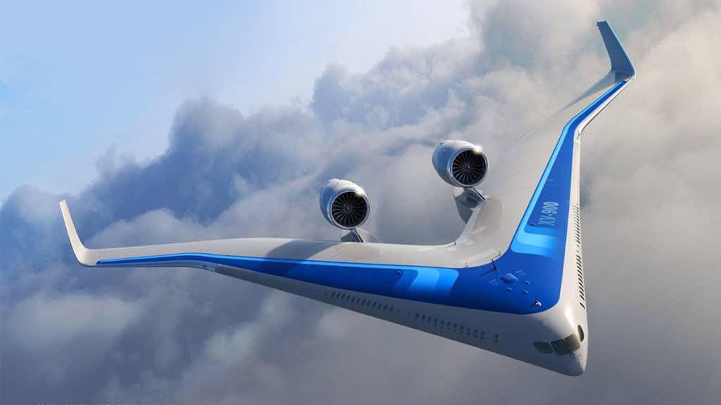 TU Delft's energy-efficient aircraft design seats passengers in its wings.