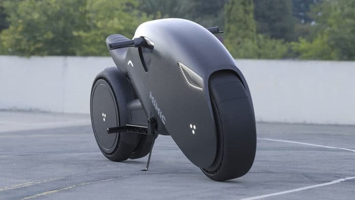 A Russian designer presents futuristic electric superbike concept.