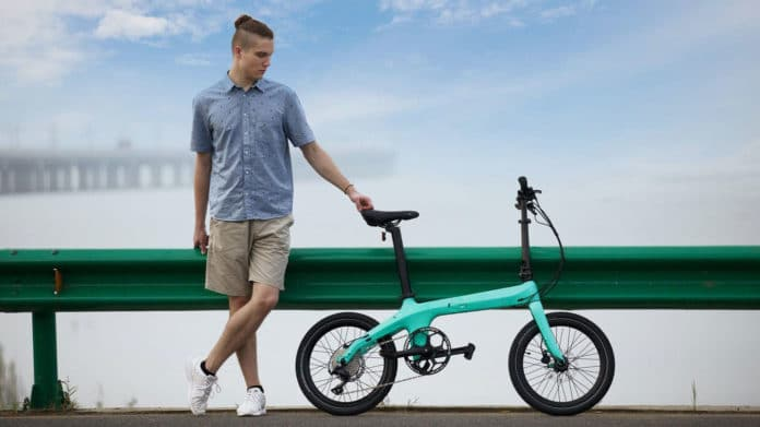 Lightweight, foldable Morfuns Éole ebikes attract attention with the prices.