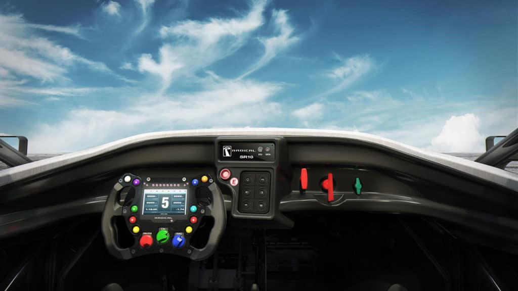 A new wheel-mounted LCD multi-page display and additional car controls at the driver's fingertips.