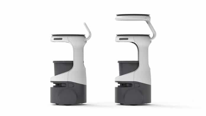 New product named Servi set to be the food service delivery robot leader.