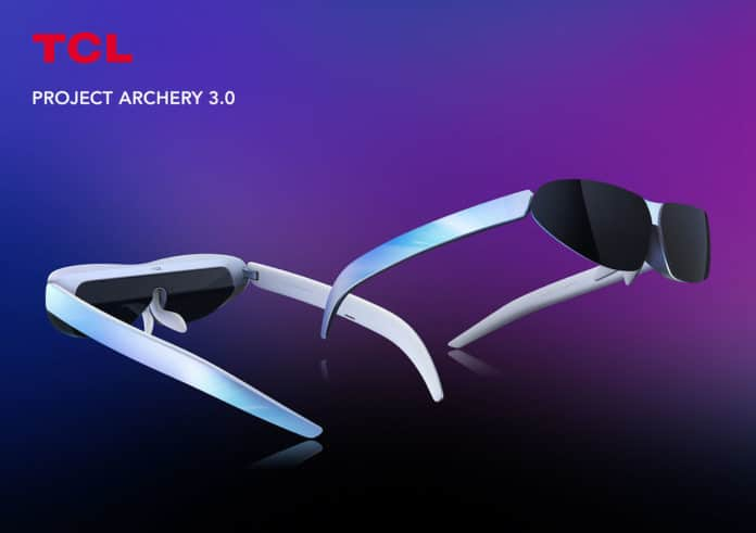 TCL showed off version 3.0 of its Project Archery wearable