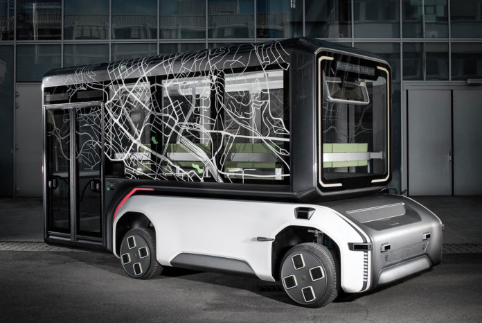 U-Shift, the future-oriented mobility concept offers flexibility.