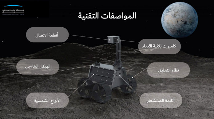 UAE to launch a 100% Emirati-made lunar rover to moon in 2024