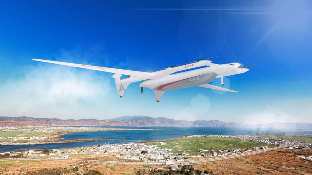 The V400 Albatross is designed for flight at a maximum altitude of up to 5,000 meters.