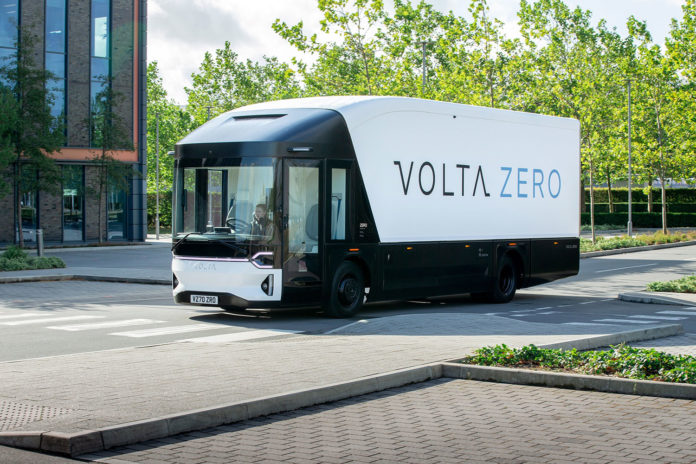 Volta Trucks reveals a full-electric truck built for inner-city freight distribution.