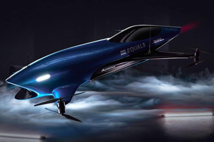 Acronis to secure Airspeeder electric flying car racing series.