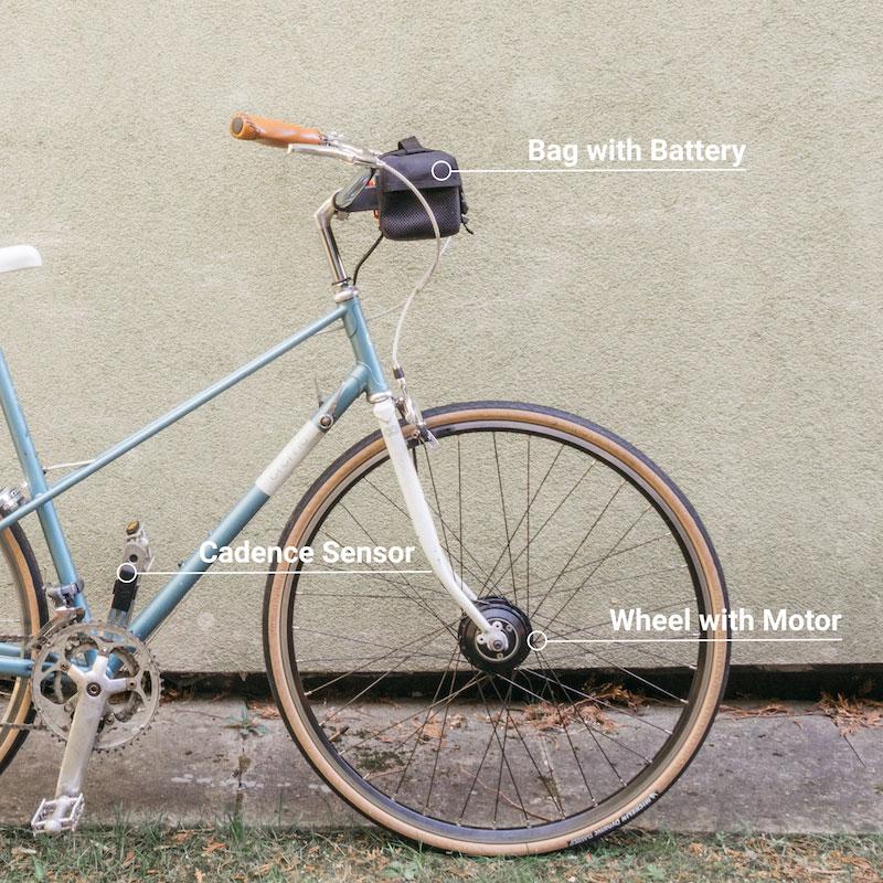 How Vekkit e-bike works?