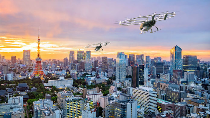 Japan Airlines, Volocopter aim to launch Air Mobility Services within next 3 years.