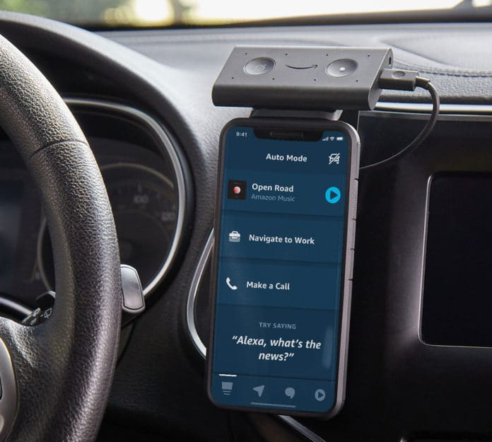 New Alexa features turn your phone into a smart, driver-friendly display.