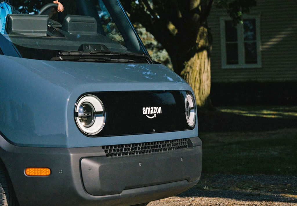 The company aims to have 10,000 Amazon custom electric delivery vehicles by 2022.