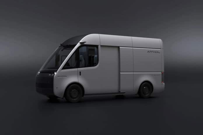 Arrival showed the Beta prototype of its electric van with improved design.